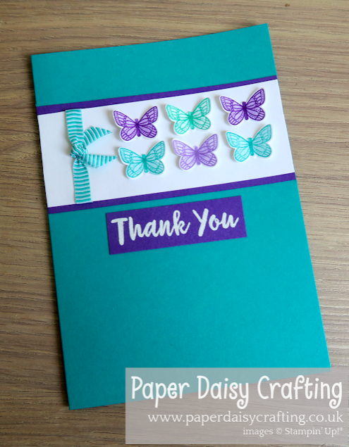 Nigezza Creates & Paper Daisy Crafting Stampin Up Demos Butterfly Gala