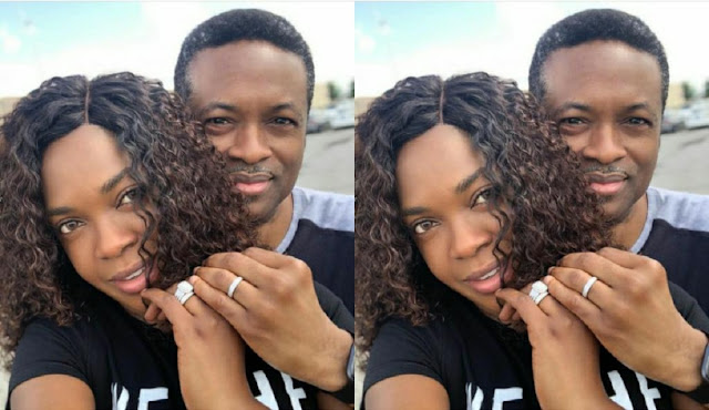 Love Too Sweet Abeg! Actress Omoni Oboli And Husband Celebrate 20th Wedding Anniversary