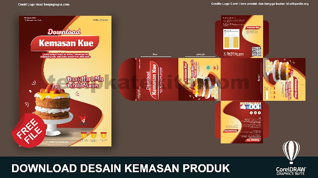 Download Desain Kemasan Produk Coreldraw Dan Photoshop Gratis