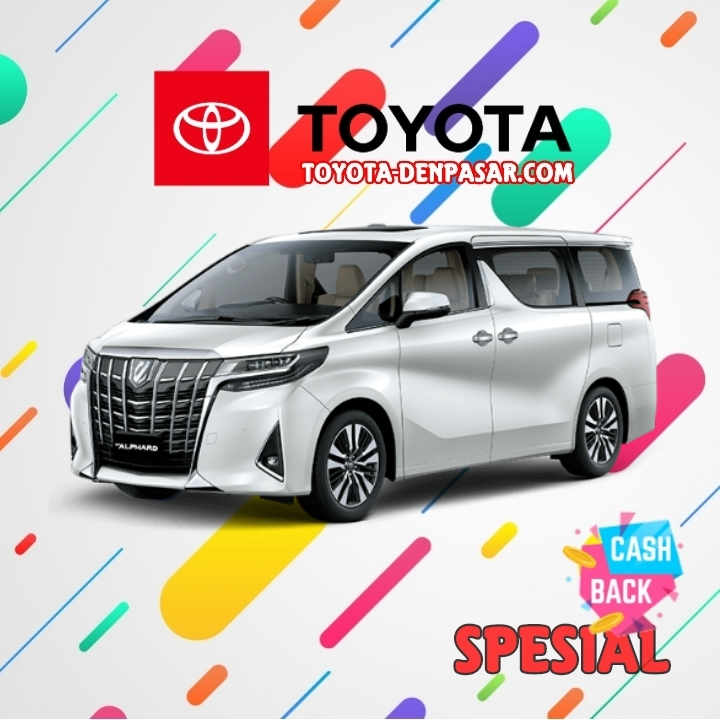 Toyota Denpasar - Lihat Spesifikasi New Alphard, Harga Toyota Alphard Bali dan Promo Toyota Alphard Bali terbaik hari ini.