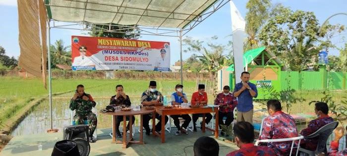 Wakil Ketua 1 DPRD Lamsel Siap Kawal Pembangunan Jalan di Sidomulyo