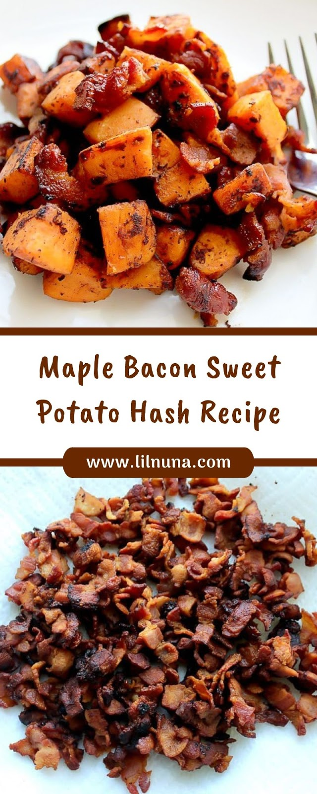 Maple Bacon Sweet Potato Hash Recipe