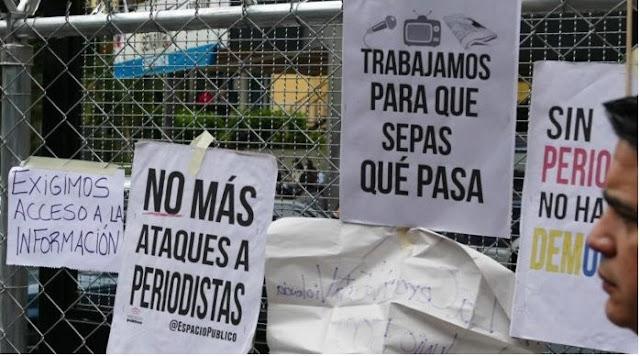 AMÉRICA: Informe de la SIP sobre las violaciones a la libertad de prensa y expresión en Venezuela (PDF).
