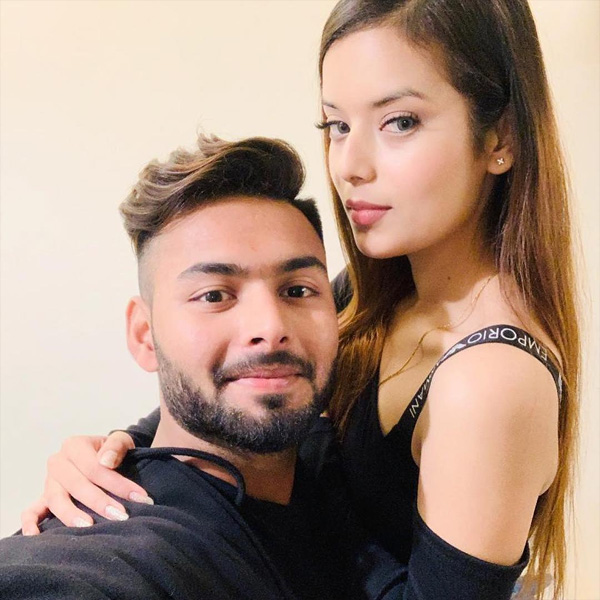Rishabh Pant's girlfriend Isha Negi's photographs have set the Internet on fire - see pics, New Delhi, News, Sports, Cricket, Cricket Test, Social Network, Photo, National