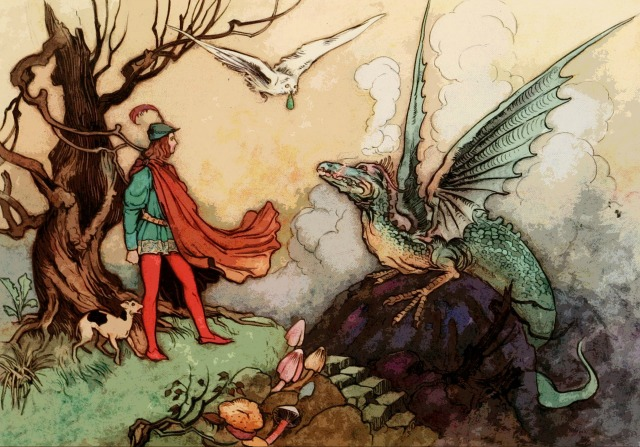 A Modern Fairy Story - The Princess, The Boy and The Dragon
