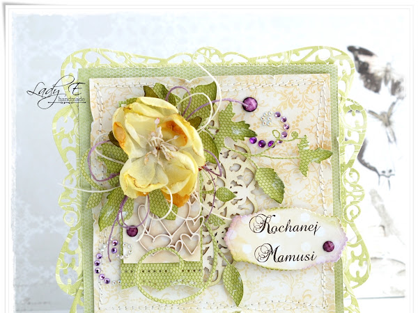 Card with decorative border :)