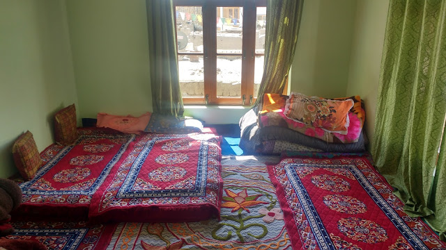 Guest bedroom in Leh