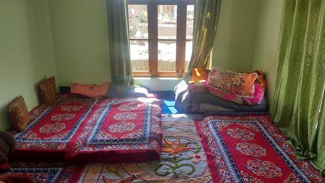 Guest bedroom in Leh