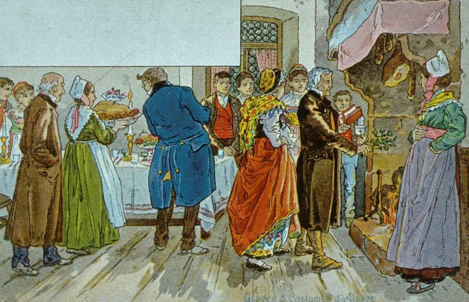 La cuisine fran aise d 39 antan l 39 histoire de la buche de for Histoire de la cuisine francaise