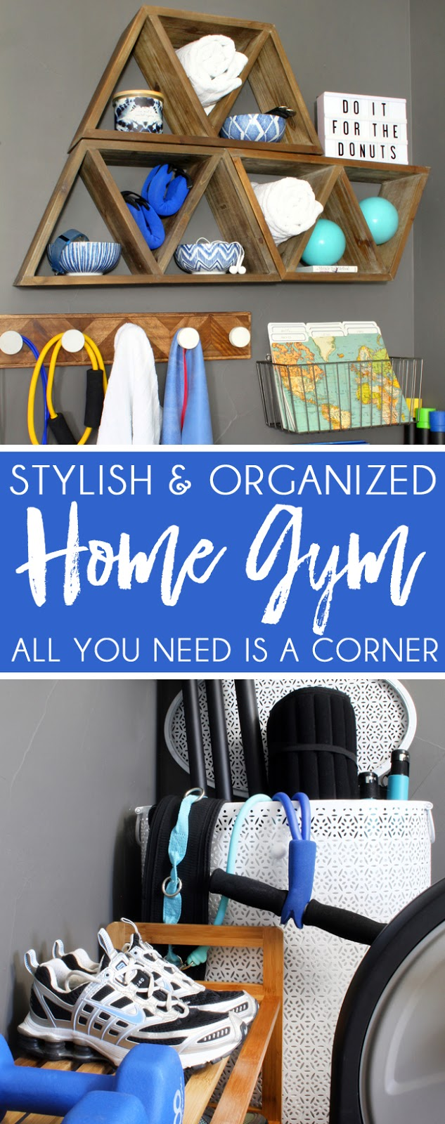 Home Gym Ideas Small Space Part - 29: Stylish And Organized Home Gym Ideas Small Space