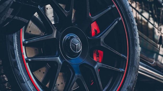 Plano de Fundo Pneu de Mercedes-Benz