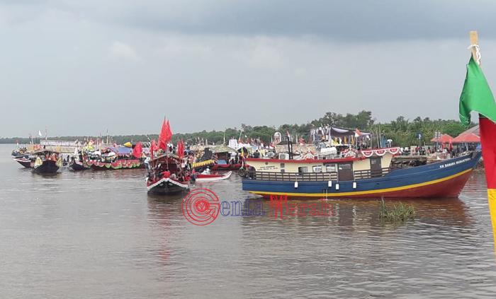Festival Sungai Mesuji Salah Satu  Ajang  Promosi Objek Wisata Bahari