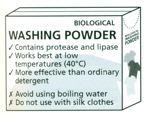 24 Use Of Enzyme In Biological Washing Powders Biology