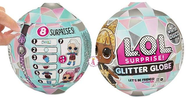 Зимняя коллекция Лол Сюрприз Glitter Globe Winter Disco: список старших сестричек и братиков