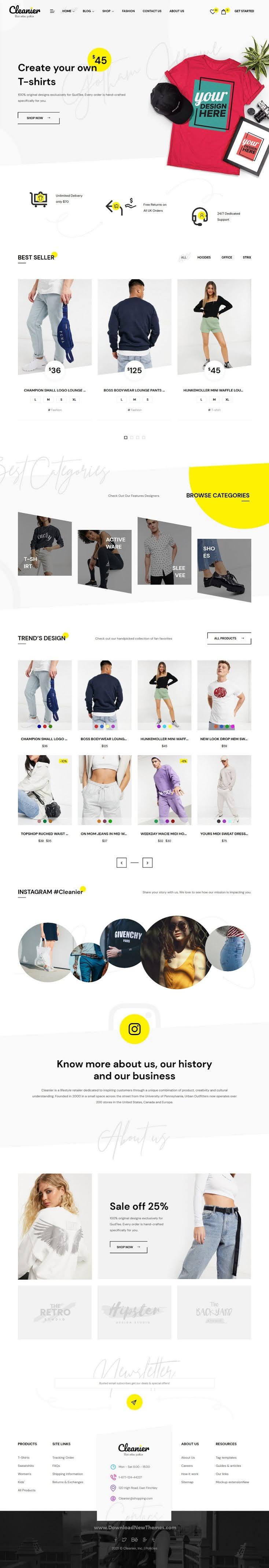Fashion WooCommerce Theme