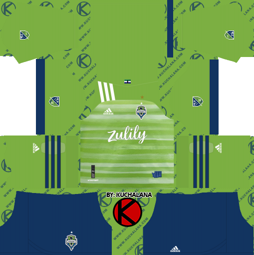 Seattle Sounders FC 2020 Kit - Dream League Soccer Kits