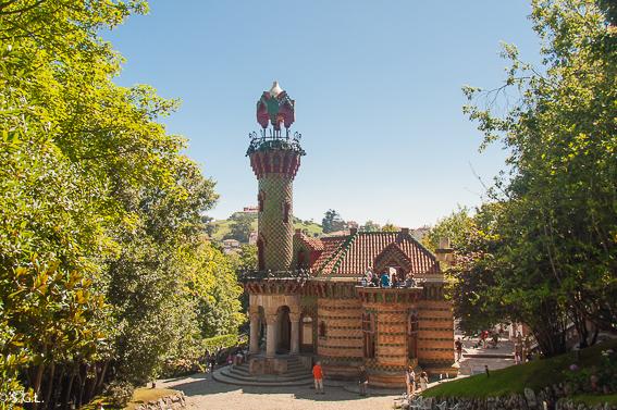 Un dia en Comillas, joya de Cantabria. El Capricho de Gaudí