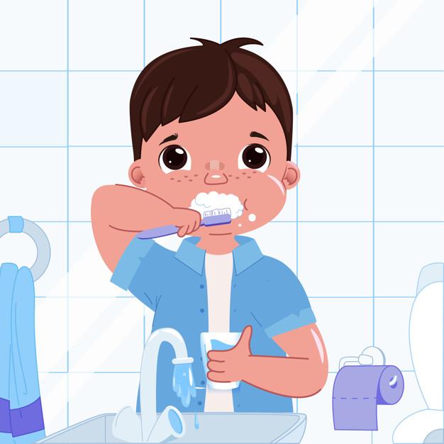 تعبير عن نظافة الاسنان بالفرنسية