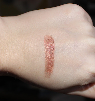 BECCA Shimmering Skin Perfector Luminous Blush in Blushed Copper Swatch