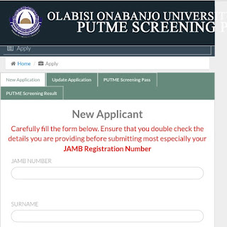 Olabisi-onabanjo-post-utme-de-admission-form-2018