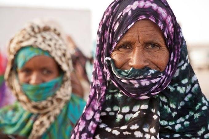 Mujer saharaui: pilar en la sociedad y clave en la lucha contra la invasión extranjera.