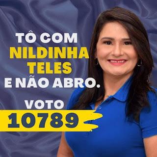 Chapadinha tem Vereadora atuante a serviço da população: NILDINHA TELES merece ter mandato renovado!