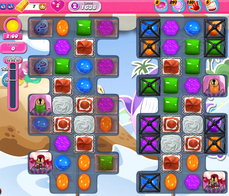 Candy Crush Saga 1638