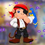 Games4King Pirate Monkey Escape