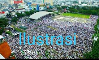 Pelaksanaan Soholat Idul Adha Pemkot Makassar Panitia Patuhi Protokol Kesehatan