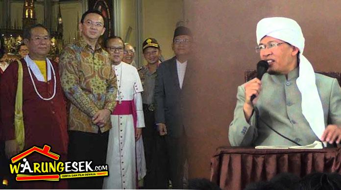 Aa Gym Heran: Sebanyak 7 Ayat Melarang Pilih Pemimpin Kafir (AHOK), tapi Banyak Kaum Muslimin yang Melanggarnya!!!