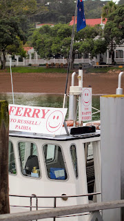Happy Ferry from Paihia to Russell in the Bay of Islands New Zealand