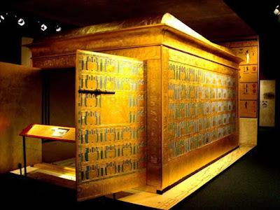 The Golden Shrines of King Tutankhamun