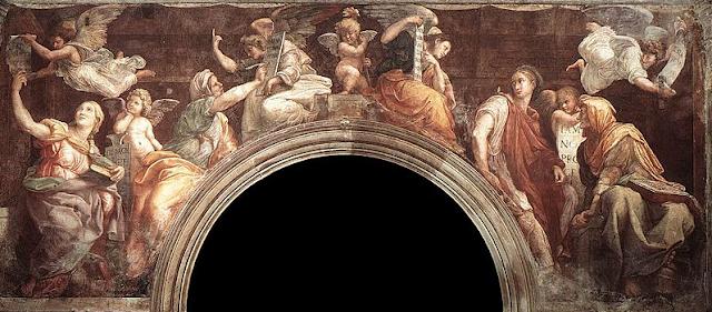 Chiostro del Bramante in Rome
