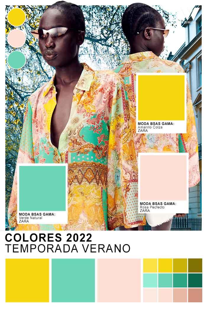 colores del verano 2022 ropa de mujer