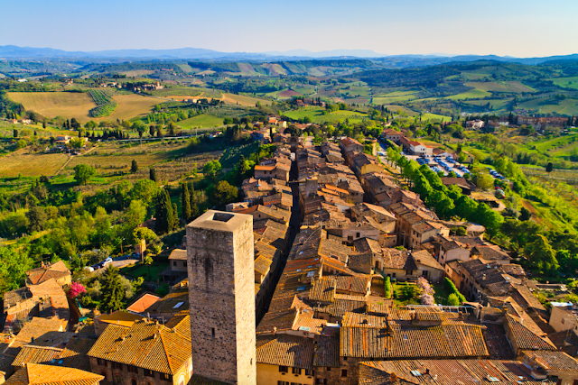 San Gimignano medieval town in italy
