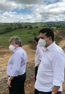 Secretário executivo do Orçamento Democrático Célio Alves acompanha ações do Governo do Estado nas principais  regiões  do estado da Paraiba