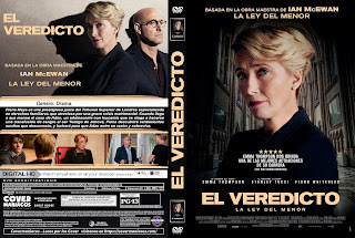 EL VEREDICTO – THE CHILDREN ACT – 2019 [COVER – DVD]