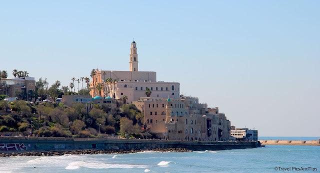 Vieille ville de Jaffa à Tel Aviv