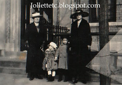 Mary Theresa Walsh in New York 1921  https://jollettetc.blogspot.com