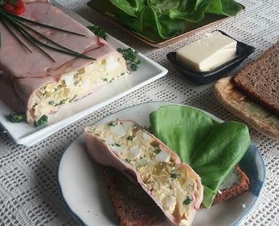 Hungarian Cold Ham & Egg Loaf