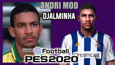 PES 2020 Faces Djalminha by Andri Mod