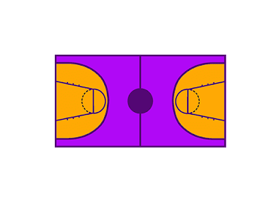 Berapakah ukuran panjang lapangan bola basket...