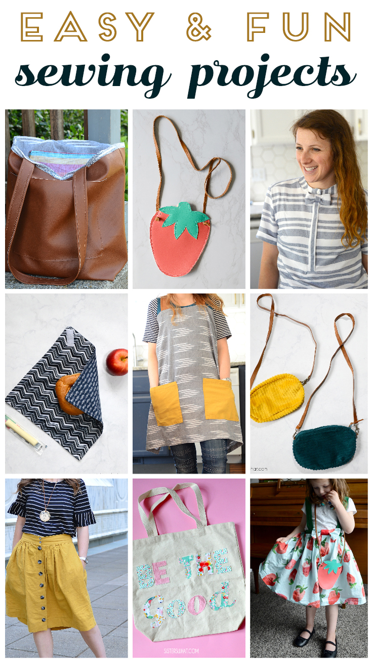 fun easy sewing projects for beginners