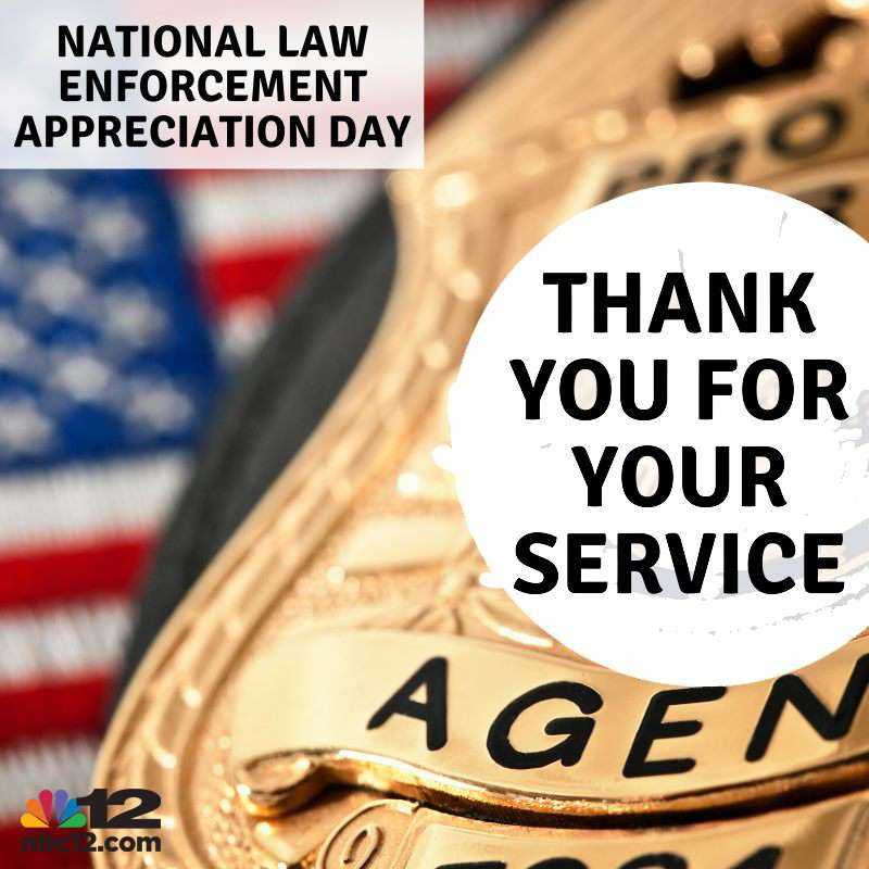 National Law Enforcement Appreciation Day Wishes