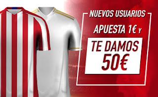 50€ gratis + 100€ Bienvenida Doblamos 1er depósito en Sportium Final de la Super Copa España 12-1-2020