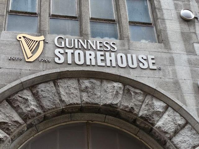 visite des entrepôts GUINNESS Dublin