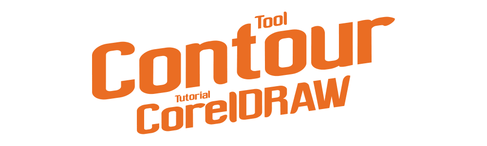 Tutorial Contour Tool CorelDRAW