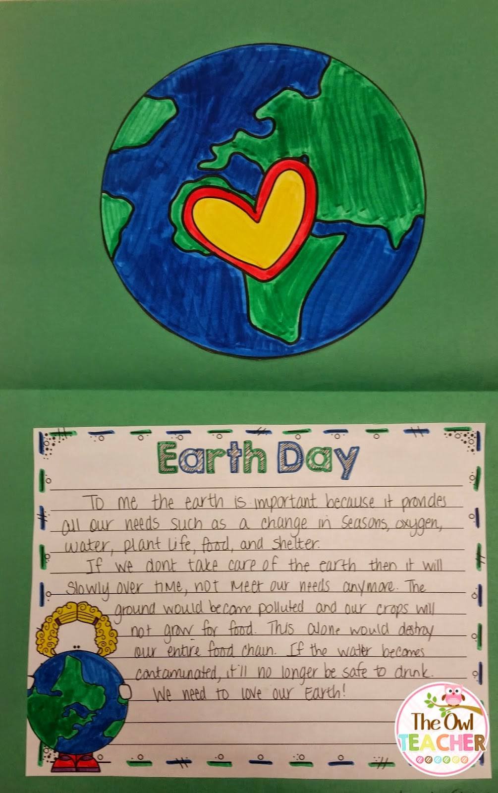 hight resolution of Polluting a Fish for Earth Day (or any day really!) - The Owl Teacher