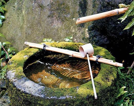 Estilo jardín japonés