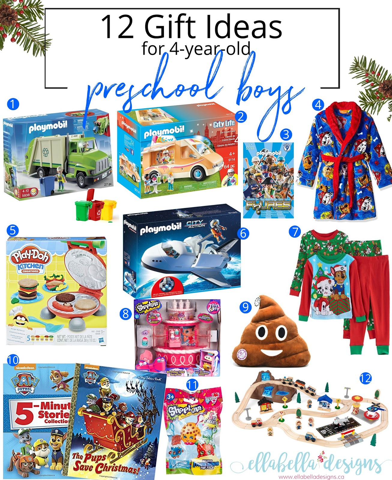 Ellabella Designs: 12 Gift Ideas for 4-year-old Toddler ...